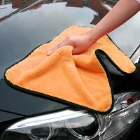 New 45cmx38cm Super Thick Plush Microfiber Car Cleaning Cloths Towel F7