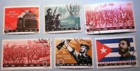 China Stamps 1963 C97 Long Live Revolutionary Socialist CB whole set of 6 +4 CTO