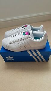 Adidas Superstar Men Shoes. White. Size  UK 8. Brand new