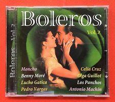 Boleros Vol 2 Tu Me Acostumbraste CD Bolero Various Artists PACIFIC 2002