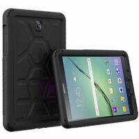 Poetic Silicone Protective Cover Case For Samsung Galaxy Tab A 8.0 Black