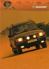 Land Rover Discovery Safari Limited Edition 1998 UK Market Leaflet Brochure