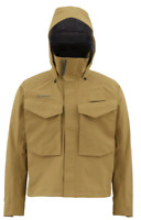 Simms Guide Gore-Tex® Fishing Jacket - Men's Size 2XL - Waterproof - Honey Brown