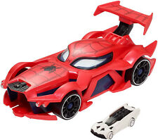 Marvel Hot Wheels Spider-man Web-Car Launcher Kid Toy Gift