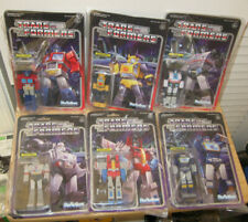 Transformers Reaction Optimus Bumblebee Jazz Megatron Starscream Soundwave NIP