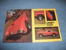 """1957 Corvette Vintage Street Machine Article """"Candy Coated Classic"""""""