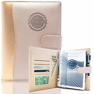 Privé Planner: 4-in-1 Daily Organizer & NotebookNon-Dated - Rose Gold