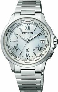 CITIZEN Watch xC Eco Drive Radio Clock Pair Model CB1020-54A