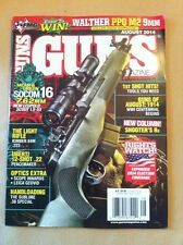 Guns Magazine Aug 2014 FREE SHIPPING, Rights Watch 2014 Election Coverage