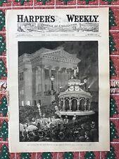 The Cincinnati Fete. The Grand Procession Of The Order Of  The Cincinnatus 1883.