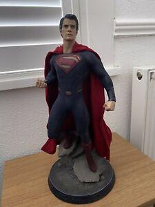 SIDESHOW COLLECTIBLES SUPERMAN MAN OF STEEL PREMIUM FORMAT FIGURE STATUE