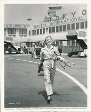 LANA TURNER Vintage CANDID Hollywood Airport LADY TAKES A FLYER Key Book Photo