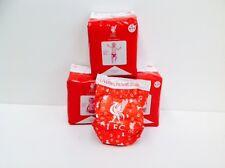 UFFICIALE Liverpool Fc Baby Pannolini, confezione da 12, presente, marchio brappies 4-11 KG