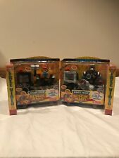Rescue Heroes Voice Tech Jack Hammer And Jake Justice 2 Pack With 2 Free VHS