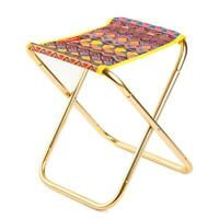Mini Portable Outdoor Folding Stool Camping Fishing Picnic Chair Small Seat AU