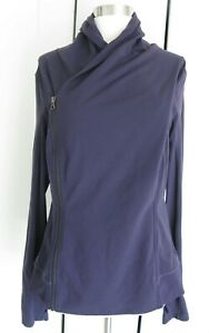 Lululemon Bhakti Yoga Jacket Long Sleeve Full Zip Grape   Sz 12