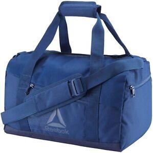 REEBOK Act Fon S Grip Duffel Bag Blue Men Bag - BRAND NEW WITH TAGS