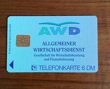 Allgemeiner Wirtschaftsdienst Telefonkarte 20 DM