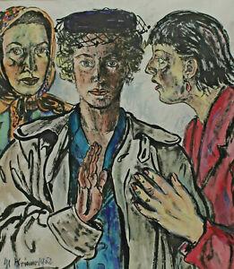 Michaela Krinner 1915 - 2006 - Three Ladies