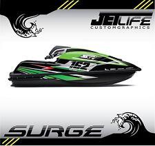 Custom Jet Ski Decal kit Kawasaki SX R 2017 2018 SURGE style stickers graphics