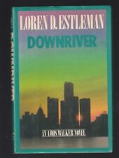 Amos Walker: Downriver by Loren D. Estleman (1988, Hardcover), Signed 1st