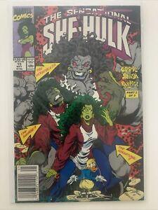 Sensational She Hulk #15, Marvel Comics, May 1990, NM, 1st Grey She Hulk