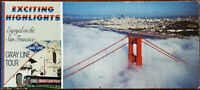 Exciting Highlights Enjoyed on the San Francisco Gray Line Tour Postcard Book