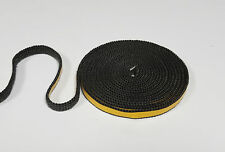10mm x 4mm Flat Stove Rope Self Adhesive Black Glass Seal Stove Fire Rope Tape
