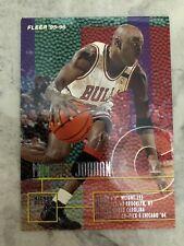 MICHAEL JORDAN FLEER 1995-96 CARD #22 CHICAGO BULLS HOF GOAT