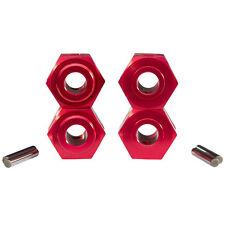 Aluminium Moyeu de Roue 24 mm 6-Kant Rouge pour 1:5 1:6 Rc Voiture Grands