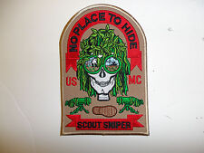 13001    USMC Sniper Patch No PLace to Hide R7C