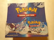 Pokemon Diamond and Pearl Booster Box sealed