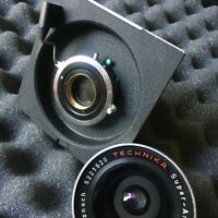 Linhof Technika 90mm Super Angulon F8 Near Mint 4x5 5x7 Recessed Board