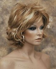 Wonderful EveryDay Short N Sassy wig full bangs Strawberry Blonde NLLx 27-613