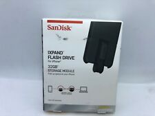 SanDisk iXpand 32GB USB 3.0 Apple Lightning Flash Drive for iphone X 8 7 6 SE 5S