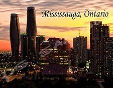 Canada - Ontario - MISSISSAUGA - Travel Souvenir Flexible Fridge Magnet