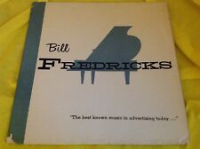 Rare Cigarette Commercial Advertising LP : Bill Fredricks ~ Music in Advertising