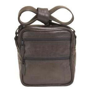 Abscent Leather Murse Smell Proof Odor Proof Odor Absorbing Skunk, Messenger Bag
