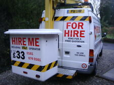CHERRY PICKER HIRE FROM £33 PER HOUR CHESHIRE