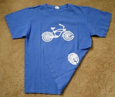 Momentum bicycle blue short sleeve t shirt size M