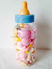 UNISEX Baby's Bottle- How Many Sweets Game? Baby Shower (inc sweets) boy/girl