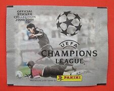 PANINI..UEFA CHAMPIONS LEAGUE 2000/2001..X 1 UNOPENED PACKET..2000... VG