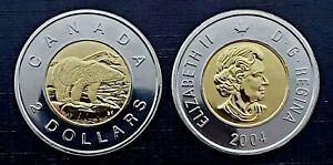 Canada 2004 Proof Like Gem Toonie!!