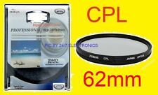 62mm CPL 62 mm C-PL POLARIZED FILTER fit OLYMPUS EVOLT-500 with lens 62:18-180mm