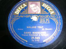 David Mackersie, Malgre' tout, A Saint-Germain des pres