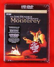 The Jimi Hendrix live at Monterey [ Region: 0 All Regions ] HD DVD, New & Sealed