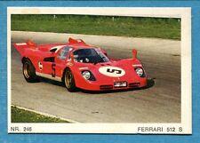 MOTO - Ed. Raf - Figurina/Sticker n. 246 - FERRARI 512 S -Rec