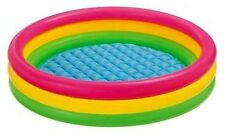 """Inflatable Kids 58"""" Pool Outdoor Backyard Swimming Playing Toddler Preschool NEW"""