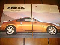 2003 NISSAN 350Z TRACK  ***ORIGINAL ARTICLE / ROAD TEST***