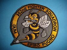 """VIETNAM WAR PATCH, USAF 352nd  FIGHTER SQUADRON """" MAD BEE """""""